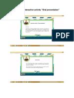 376044477 Evidence Interactive Activity Oral Presentation Docx