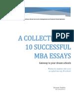 eBook of 10 Sample Essays -MER