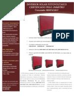 Catalogo Inversores Monofasicos Linha PHB