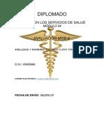 Gerencia en Los Servicios de Salud Mod.4 Ev. 4 Delgado Clavo. Yoni. Doc