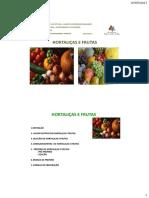Aula de Hortaliças e Frutas i2017