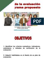 Programa de evaluacion de presupuesto