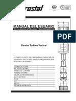 manual del usuario electrobomba hidrostal
