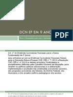 DCN EF em 9 anos