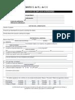 Formato Verificacion de Empleos Anteriores SEMARSI