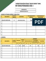 Informe Tecnico Pedagogico 2018-II