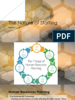 The Nature of Staffing