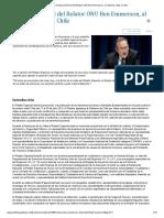 Declaración final del Relator ONU Ben Emmerson 2011