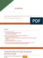 Petunjuk Pengisian Rencana Studi En