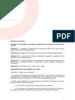 Decreto 8796-1961 Actividad de BBVV. Reglamentacion Decreto-Ley 1945-58