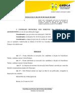 Resolucao No 08 de 29 de Maio Homologacao Das Inscricoes Apos Recursos
