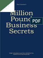 Million Pound Business Secrets