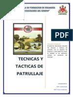 Tecnicas y Tacticas de Patrullaje