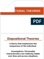 Dispositional Theories