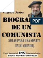 Biografia de Un Comunista