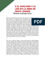 Andrade Ancic, Ricardo - Sobre el nihilismo y la rebeldia en la obra de ERnst Jünger.pdf