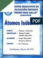 ATOMOS ISOBAROS