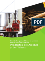 3 Requisitos Para Obtener La Licencia de Fabricante Alcohol Tabaco