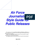 USAF Style Guide (2014)