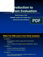 Powers IntroductionToProgramEvaluation