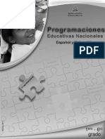 Programaciones Educativas Nacionales ES-MA 1°-6° (edición 2011)