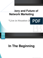 History and Future of Network Marketing - Richard Bliss Brooke