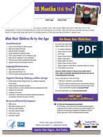 CDC LTSAE Checklists With Tips 18months P