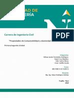 MECFLUIDOS_TRABAJO(N°2)_PROPIEDADES DE COMPRESIBILIDAD Y ELASTICIDAD DE LOS FLUIDOS_(FERNÁNDEZ, CRUZ, QUIROZ, CASTILLO)
