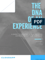 THE DNA of an Experience