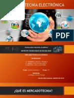 Presentación mercadotecnia electronica