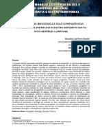 Eixo - 6 a Mobilidade Ideologica e Suas Consequencias Geograficas a Partir Das Eleicoes Presidenciais Na Nova Republica (3)