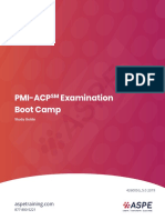 Agile PMI-ACP exam prep boot camp