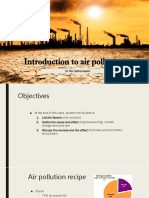 Chapter 1 - Intro and Current Issue in Air Pollution