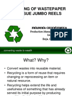 Recycling of Wastepaper to Tissue Products_Town & Gown Seminar_Chemistry.pdf