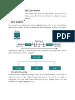 Digital to Digital Data Communication