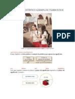 El Signo Lingüístico Ejemplos y Ejercicios