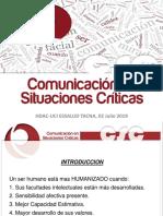 Comunicación en Situaciones Criticas