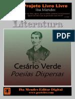 Poesias Dispersas - Cesario Verde