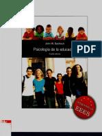 PSICOLOGÍA DE LA EDUCACIÓN 4TA EDICIÓN J. SANTROCK.pdf