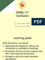 ENBS117 Ventilation