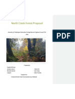 north creek forest proposal 2018-2019