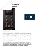 SSL4000 G-Compressor Manual