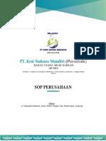 Standard Operating Procedure (SOP) Perusahaan