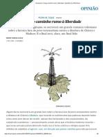Venezuela_ O Longo Caminho Rumo à Liberdade _ Opinião _ EL PAÍS Brasil