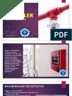 Instalasi Sprinkler Dan Smoke Detector