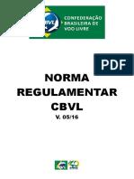 Norma Regulamentar CBVL -V 0516