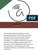 Akswara - Company Profile