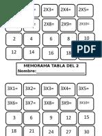 Memorama Tablas (1)