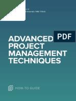 ANA Advanced Project Management Techniques