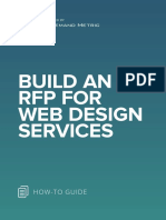 ANA Build an RFP for Web Design Services
